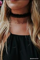 Forever21 Cutout Heart Necklace