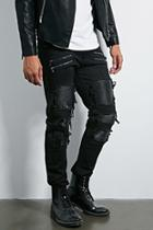 Forever21 Victorious Distressed Jeans