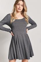 Forever21 Marled Swing Dress