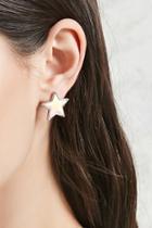 Forever21 Iridescent Star Studs