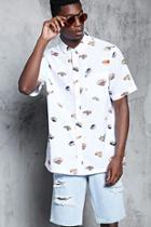 Forever21 Sushi Print Shirt