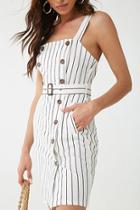 Forever21 Striped Sleeveless Dress