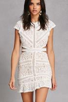 Forever21 Cutout Lace Dress