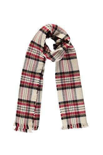 Forever21 Plaid Twill Oblong Scarf