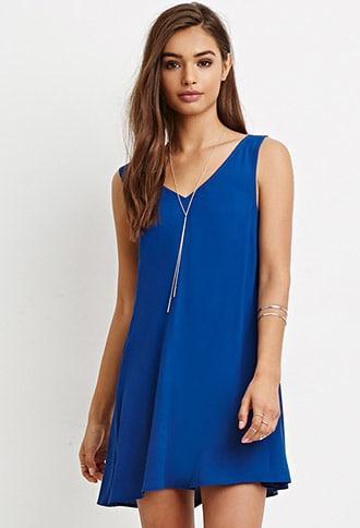 Forever21 V-cut Mini Dress
