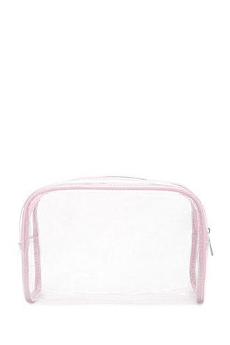 Forever21 Contrast Clear Makeup Bag