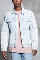 Forever21 Faded Wash Denim Jacket
