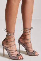 Forever21 Faux Leather Gladiator Heels
