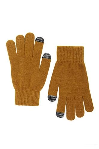 Forever21 Marled Knit Gloves