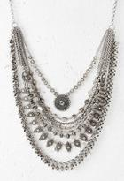 Forever21 Layered Chain Statement Necklace