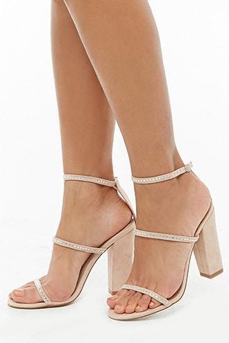 Forever21 Studded Block Heels