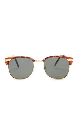 Forever21 Replay Vintage Tortoiseshell Browline Sunglasses