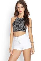 Forever21 Buttoned Denim Shorts