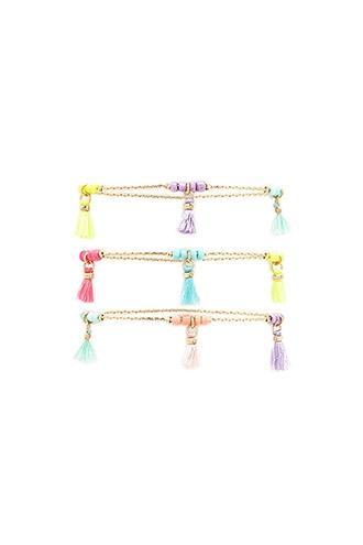 Forever21 Tasseled Bracelet Set