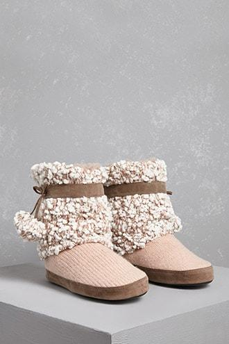 Forever21 Muk Luks Boucle Boots
