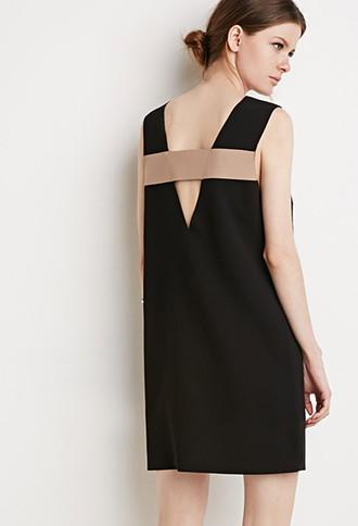 Love21 Cutout-back Shift Dress