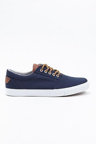 Forever21 Men Xray Canvas Sneakers