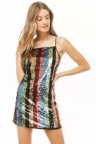 Forever21 Striped Sequin Dress