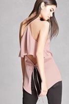 Forever21 Satin Cutout-back Cami