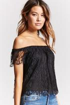 Forever21 Contemporary Lace Top