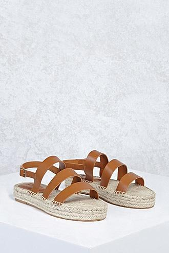 Forever21 Strappy Espadrille Sandals
