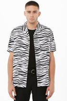 Forever21 Zebra Print Shirt