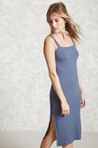 Forever21 Contemporary Ribbed Midi Dress