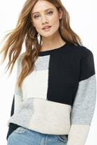 Forever21 Patchwork Colorblock Sweater