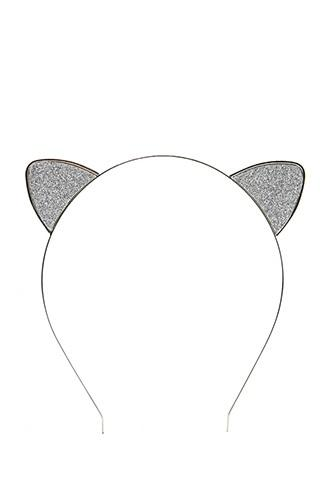 Forever21 Glitter Cat Ear Headband