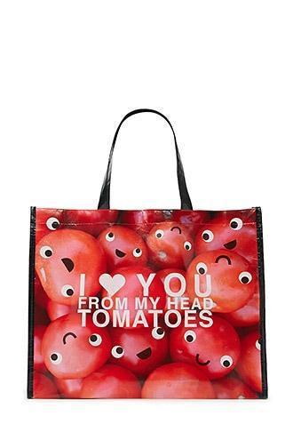 Forever21 Tomato Graphic Eco Tote