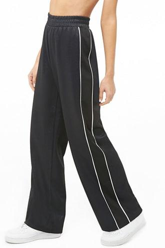 Forever21 Textured Metallic Track Pants