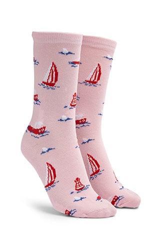 Forever21 Men Nautical Print Crew Socks