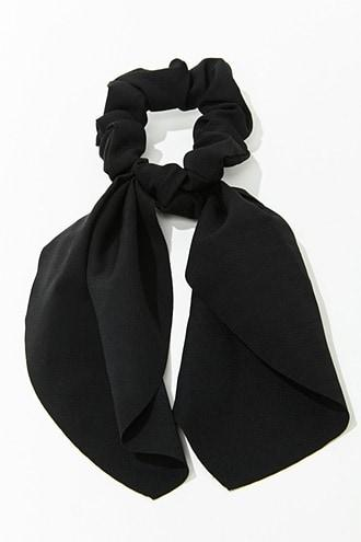 Forever21 Solid Bowtie Scrunchie