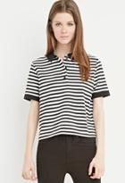 Forever21 Classic Striped Polo