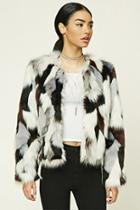 Forever21 Fuzzy Faux Fur Jacket