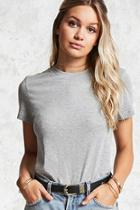 Forever21 Heathered Knit Tee