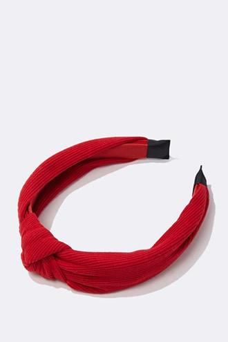 Forever21 Ribbed Knotted Headband