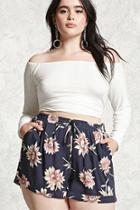 Forever21 Plus Size Floral Shorts