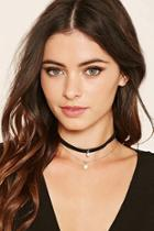 Forever21 Faux Pearl Layered Choker