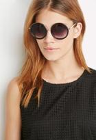 Forever21 Metal-trimmed Round Sunglasses