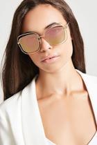 Forever21 Geo-cutout Square Sunglasses