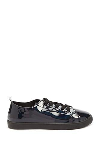 Forever21 Iridescent Low Top Sneakers