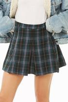 Forever21 Plaid Print Skirt