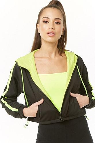 Forever21 Textured Cropped Jacket