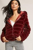 Forever21 Faux Fur Puffer Jacket