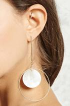 Forever21 Mother Of Pearl Drop Earrings