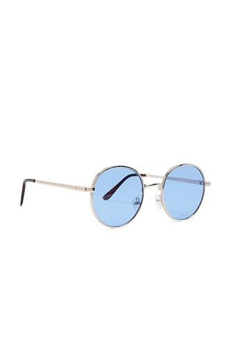 Forever21 Men Round Tinted Sunglasses