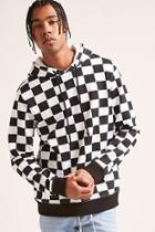 Forever21 Checkered Print Hoodie