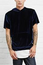 21 Men Men's  Eptm. Hooded Velour Tee
