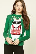 Forever21 Holiday Polar Bear Sweater